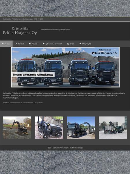 Kuljetusliike Pekka Harjanne Oy