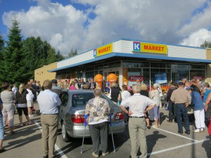 K-market Karppala avajaiset 2012