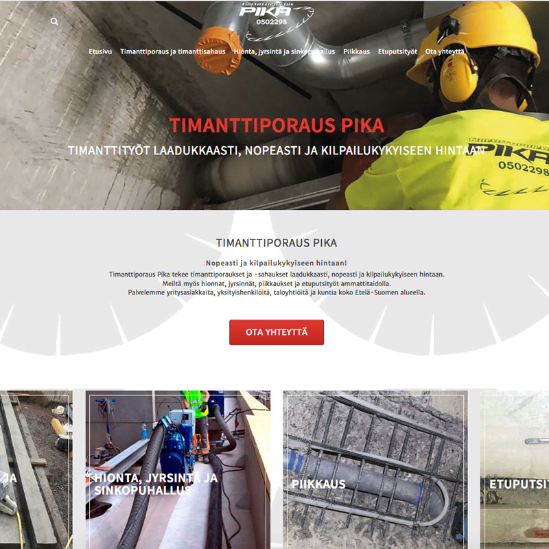 https://www.pikatimanttiporaus.fi/